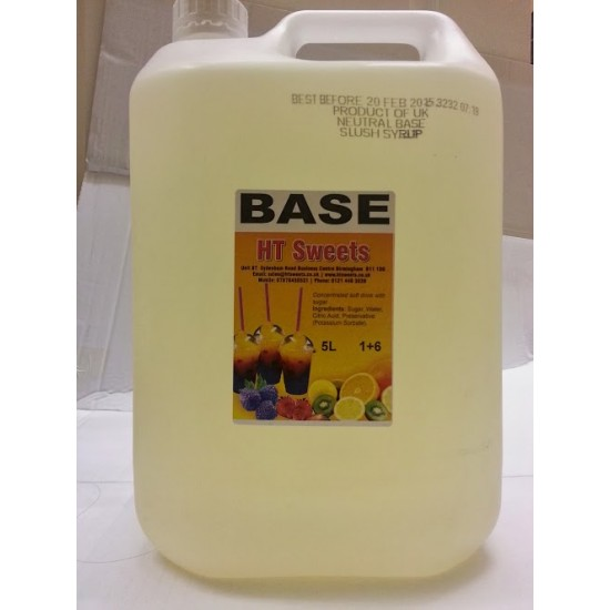 Neutral Base Syrup 1x5 Litre