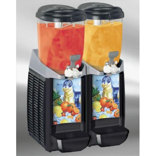 Caress Cabspa slush machine 2x5.5Ltr with stock