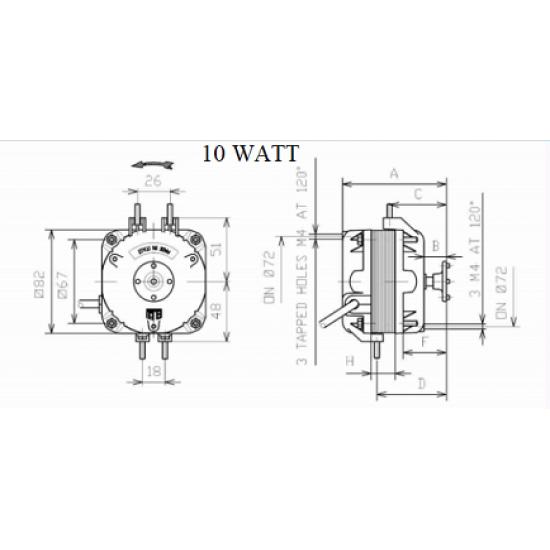 ELCO NET5T10ZVN001, 10 WATT
