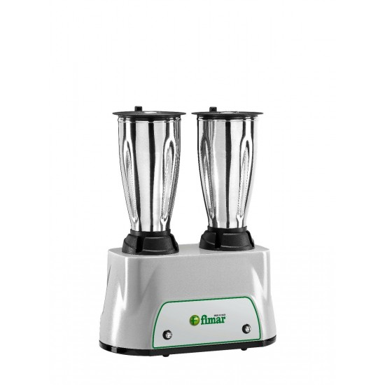 BLENDER mod. FRP2150 - N.2 polycarbonate jugs Lt 1,5 + Lt1,5 - Power 600+600 W - 230V single phase - 50-60 Hz ,FR21501235M