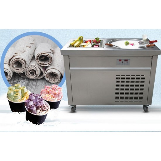 PAN FRIED ICE CREAM MACHINE  SUMTASA 1006 (item is for collection only)