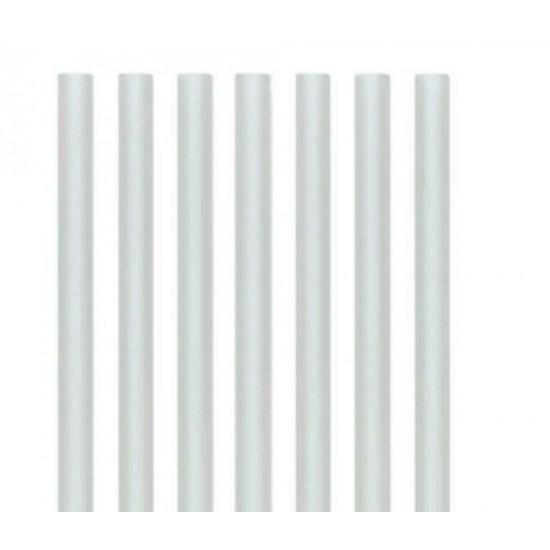 PLA PLASTIC Biodegradable SMOOTHIE Straws   9mm x 200mm - 8000PCS