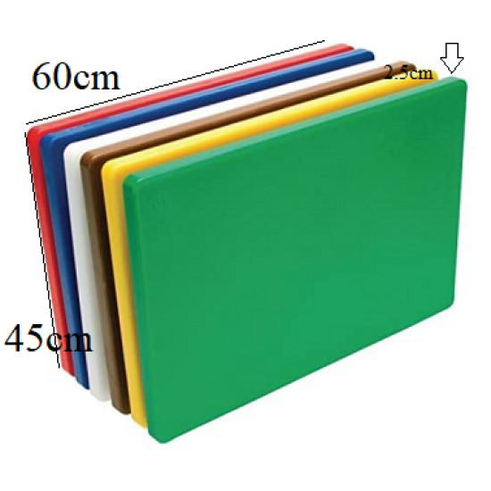 LARGE EXTRA Thick Professional Catering,Chopping Board 12x23.6 inches / 60x45cmx2.5cm,(6xChopping Board Full Set