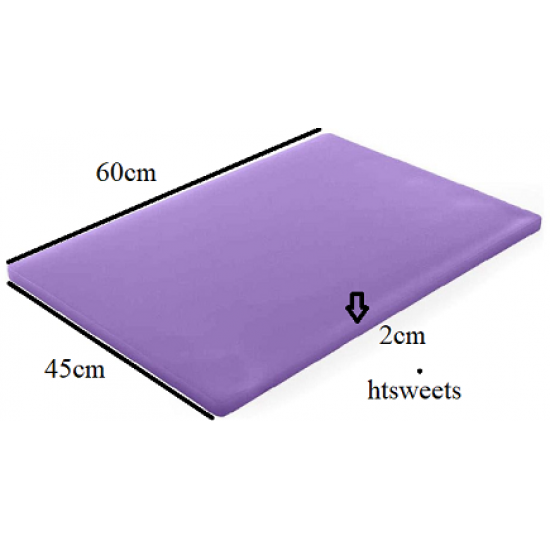 LARGE EXTRA Thick Professional Catering.Chopping Board 12x23.6 inches / 60x45cmx2cm,2.5cm(1xChopping Board Purple only)