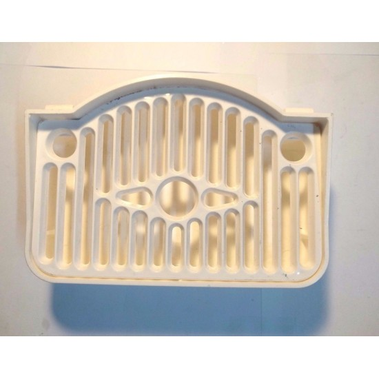 Complete drip tray - white. part number: 19. GBG,