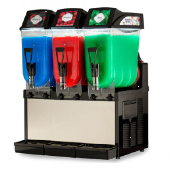Italian FROSTY DREAM slush machine 3x12ltr