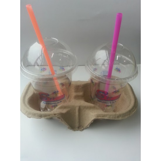 Beverage Tray Cup holder 2 Cups 1x360