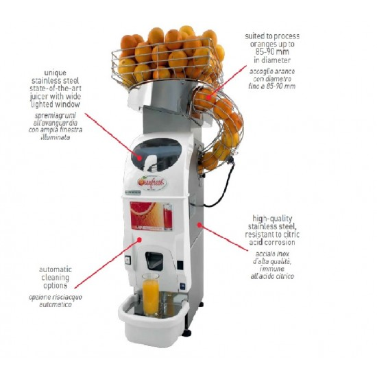 Automatic Juicer oranfresh ORM 5 with static Hopper
