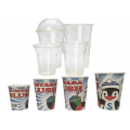 PLA Biodegradable Cups,Slush Paper cups