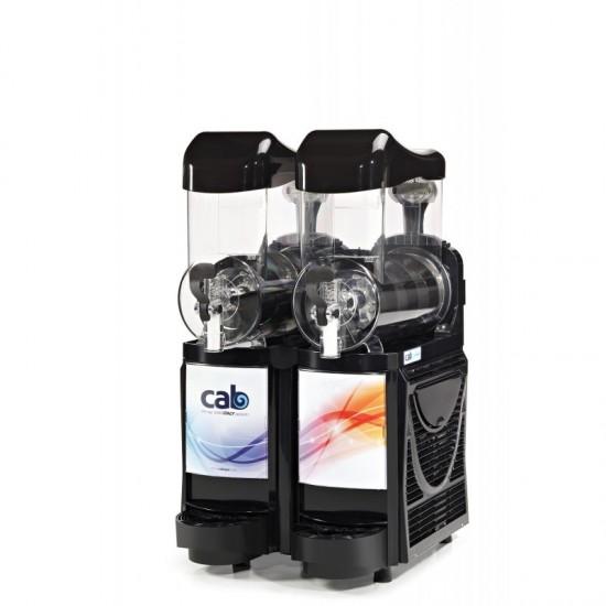 CAB Skyline Faby Cabspa slush machine BLACK 2x10litre with stock ,PKG 1