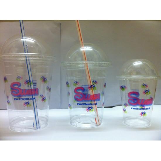 10OZ Printed PET Slush cups x 1000           (295ml)