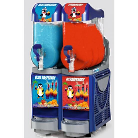 Faby Cabspa slush machine BLUE 2x10ltr  ,free uk mainland delivery