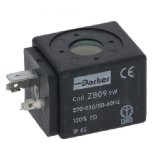COIL PARKER ZB09 9W 220/240V 50/60Hz,3120032