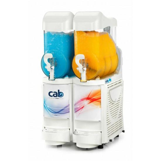 Faby Cabspa slush machine WHITE, 2x10litre with stock ,PKG 1